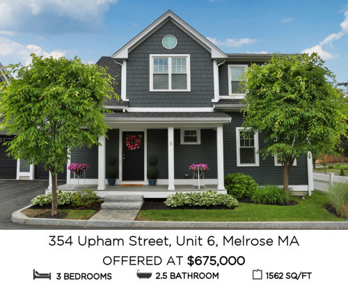 Featured Home for Sale - 354 Upham Street, Unit 6, Melrose, MA - The Kim Perrotti Team