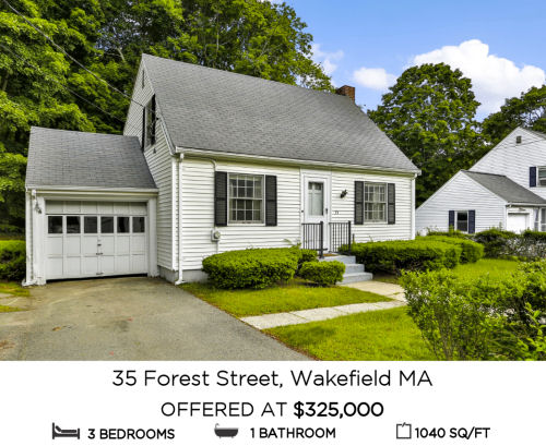 Featured Home for Sale - 35 Forest Street, Wakefield MA - The Kim Perrotti Team