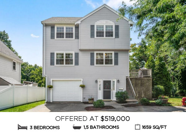Featured Home for Sale - 36 Forest Court, Malden MA