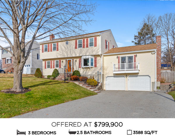Featured Home for Sale - 5 High Rock Road, Stoneham MA