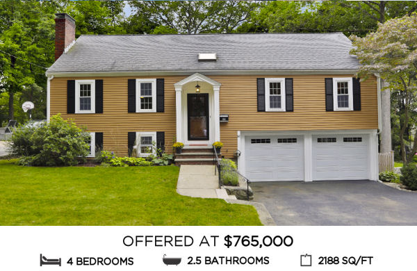 Featured Home for Sale - 88 Whitman Avenue, Melrose MA
