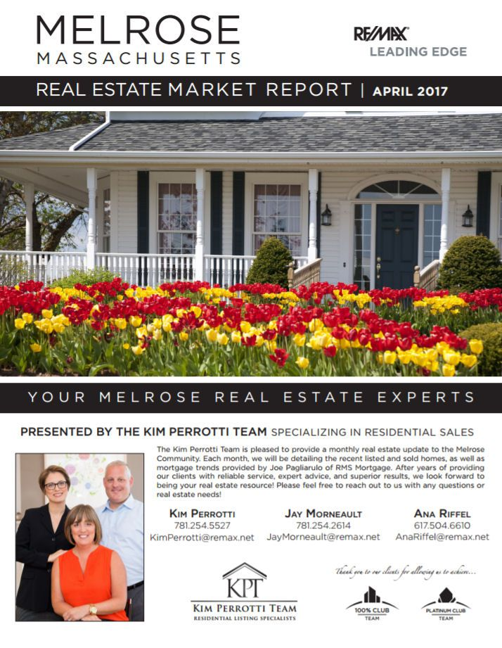 Melrose MA Real Estate Market Report April 2017 p1