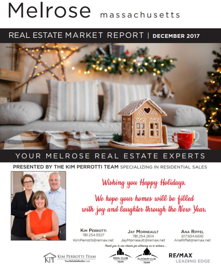 Melrose MA Real Estate Market Report - December 2017 p1