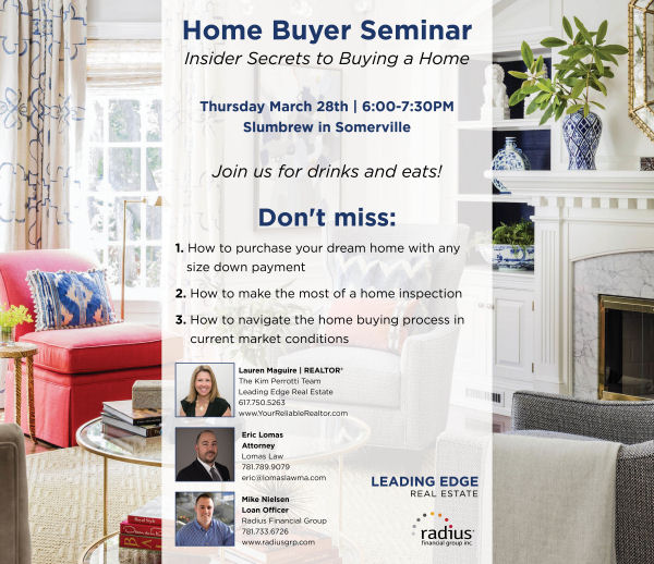 Home Buyer Seminar - Insider Secrets to Buying a Home