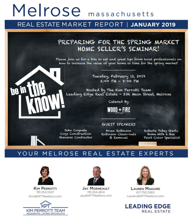Melrose MA Real Estate Market Report - December 2018