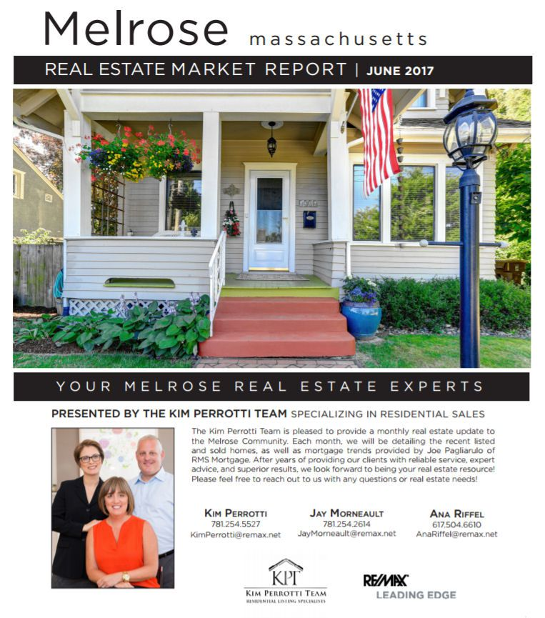 Melrose MA Real Estate Market Report June 2017 p1