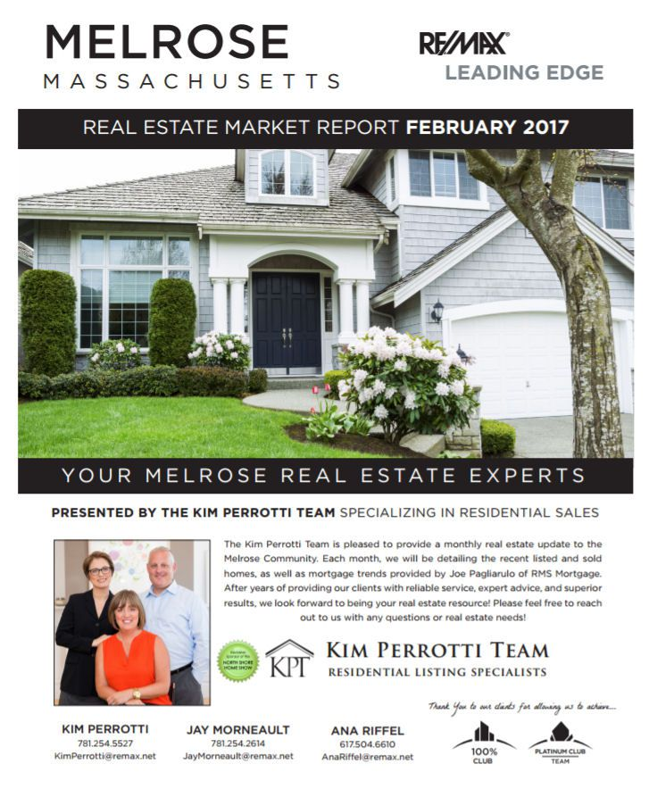 Melrose MA Real Estate Market Report March 2017 p1