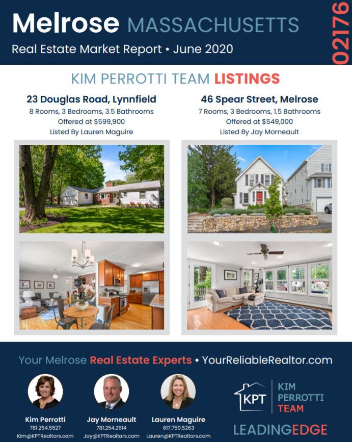 Melrose MA Real Estate Market Report - June 2020