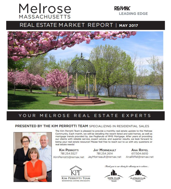 Melrose MA Real Estate Market Report - May 2017 p1