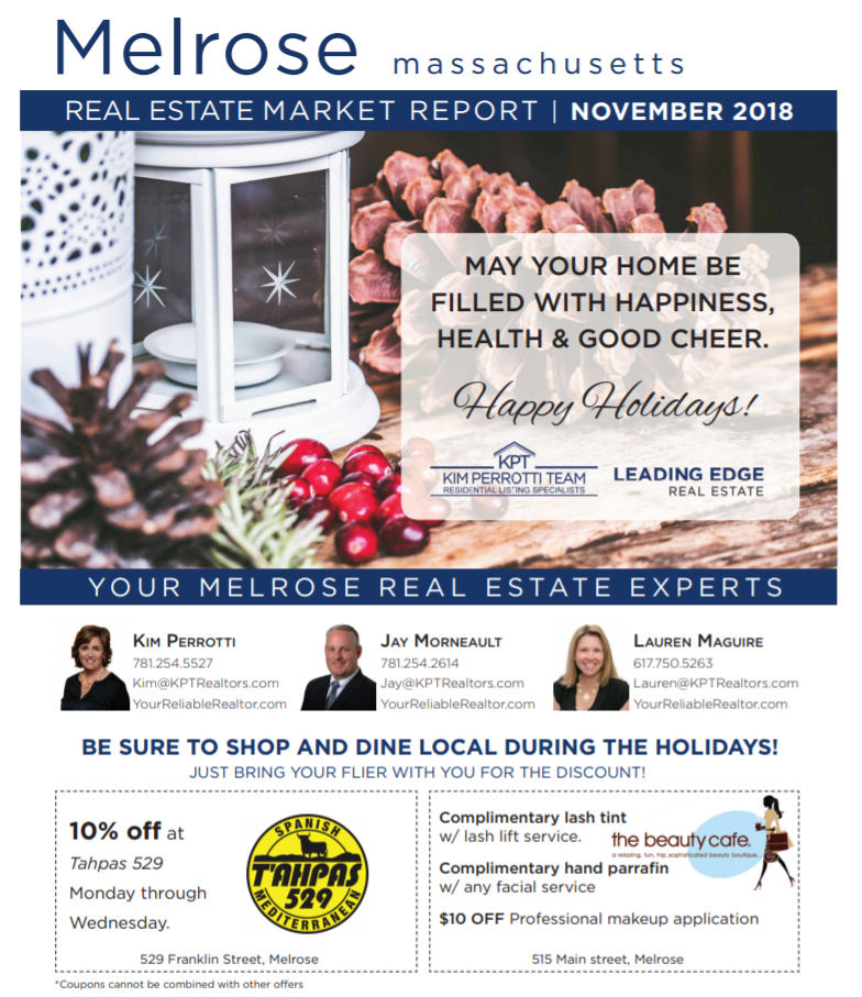 Melrose MA Real Estate Market Report - November 2018 p1