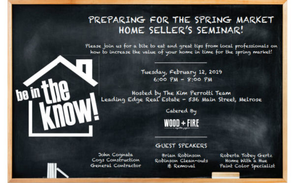 Preparing for the Spring Market - Home Seller's Seminar