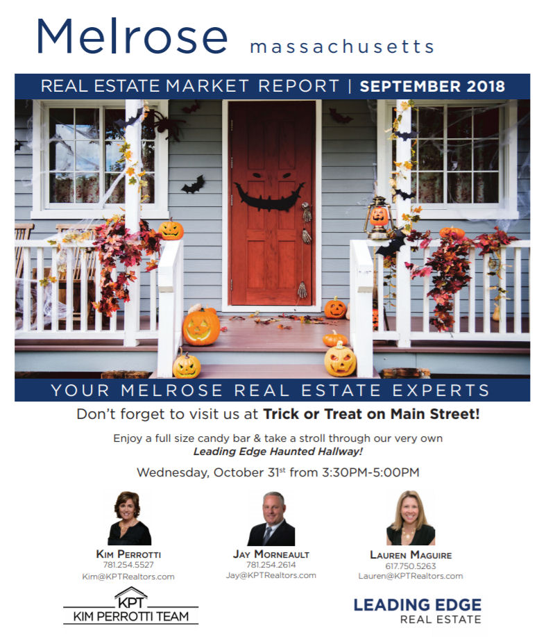 Melrose MA Real Estate Market Report - September 2018  p1