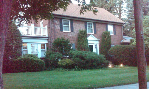 one bedroom apartment for rent in Newton, MA - view of exterior shown