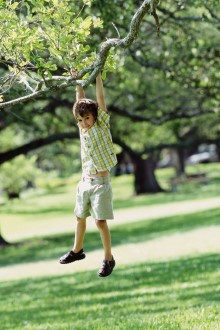 Children should play safely.  Research your neighborhood before you buy real estate in a new community.