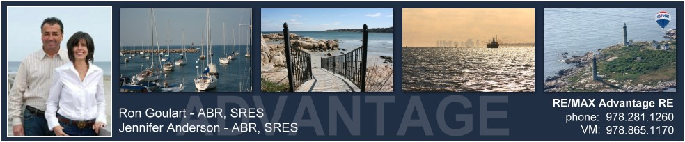 MA homes  For Sale Gloucester Rockport Essex Cape Ann real estate REMAX Ron Goulart Jennifer Anderson